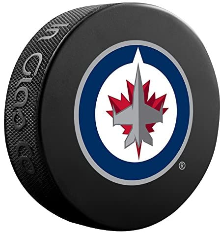 Winnipeg Jets Sher-Wood Athletic Group Souvenir Puck, One Size, Black