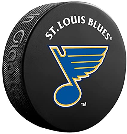 The St. Louis Blues Sher-Wood Athletic Group Souvenir Puck, One Size, Black