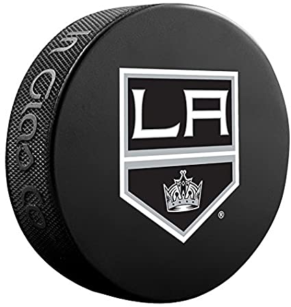 Los Angeles Kings Sher-Wood Athletic GroupSouvenir Puck, One Size, Black