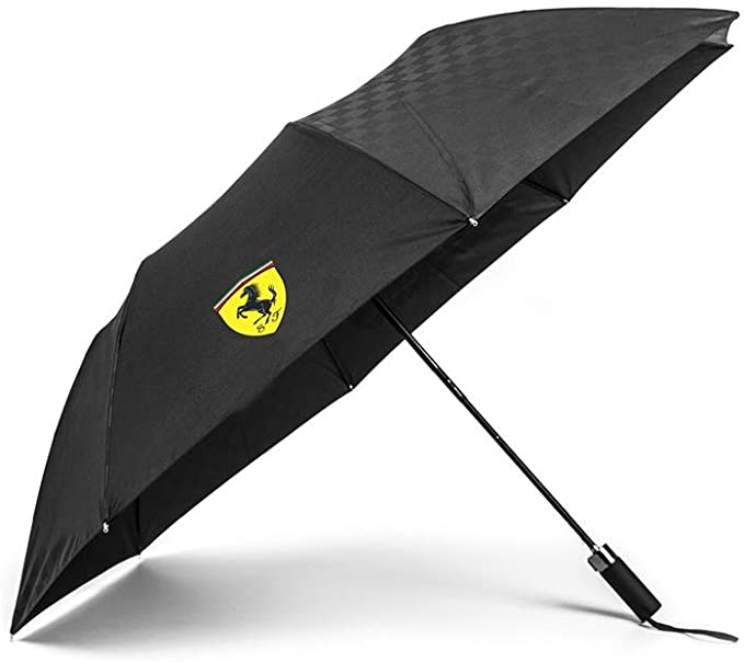 Scuderia Ferrari Formula 1™ Team Compact Umbrella  - Accessories - Black