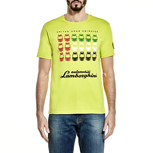 Lamborghini United Arab Emirates T-Shirt - Men - Lime