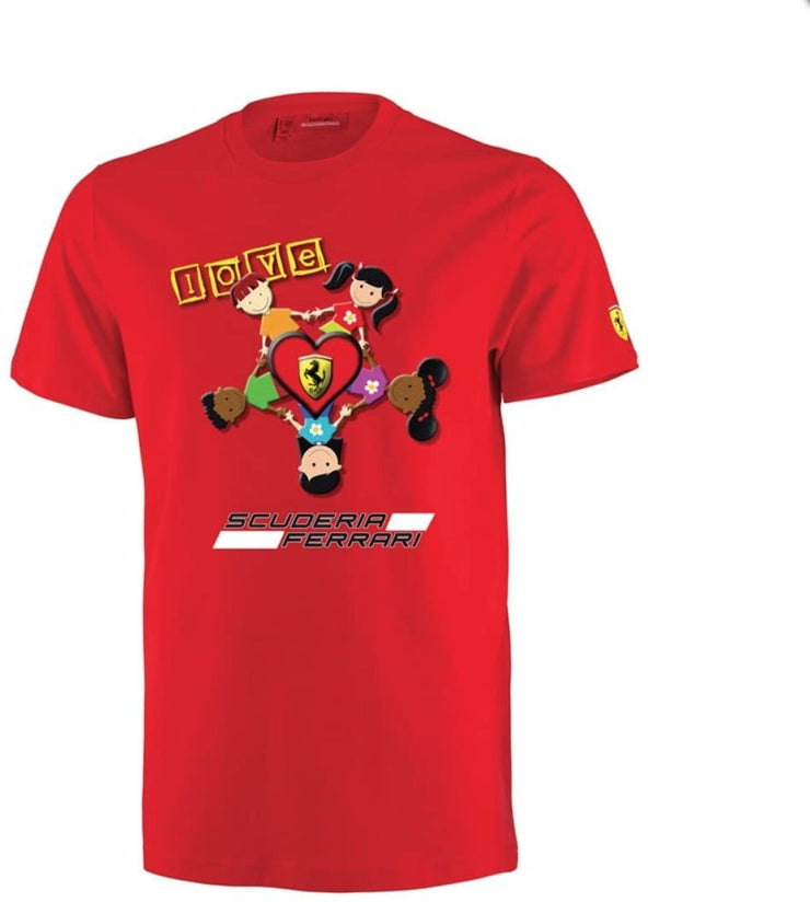Scuderia Ferrari We All Love Ferrari T-shirt - Kids - Red