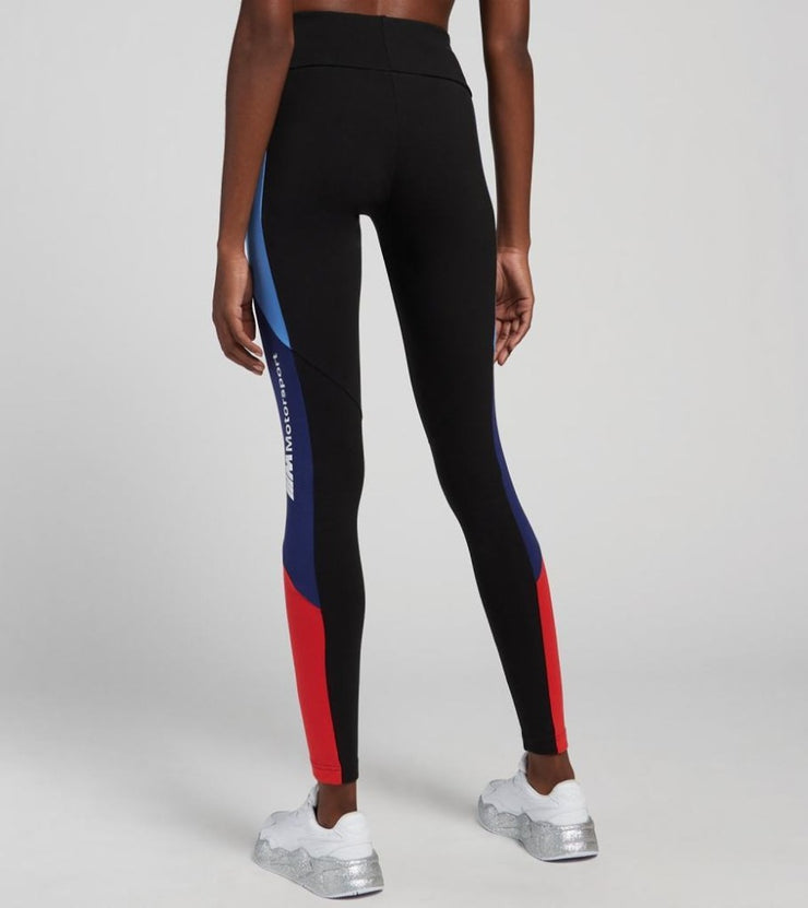 Puma BMW Motorsport Leggings Tights - Women - Black Multicolor