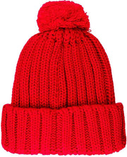 Scuderia Ferrari Pom Pom winter beanie hat - Kids - Red