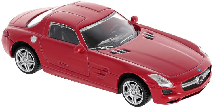 Rastar 1:43 scale Mercedes-Benz SLS Sport Coupe AMG Toy Car - Accessories - Red