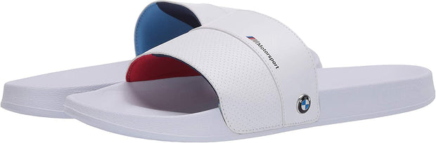 Genuine BMW Puma BMW MMS Leadcat FTR Sandals Flip Flops Men White