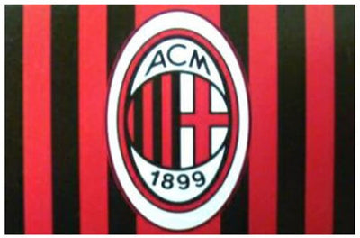 Bundesliga AC Milan Flag 5ft X 3ft - Accessories