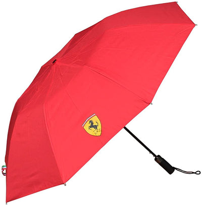 Scuderia Ferrari Compact Small Mini Umbrella -  Accessories - Red
