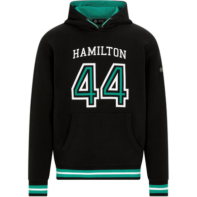 2021 Mercedes AMG Petronas Motorsport F1™ LEWIS HAMILTON #44 Hooded - Men - Black