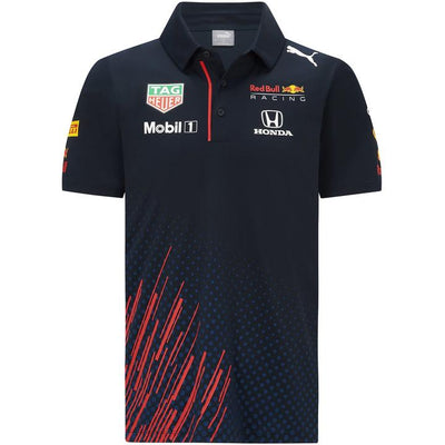 2021 Red Bull Racing F1™ Team Polo Shirt Puma - Men - Navy Blue