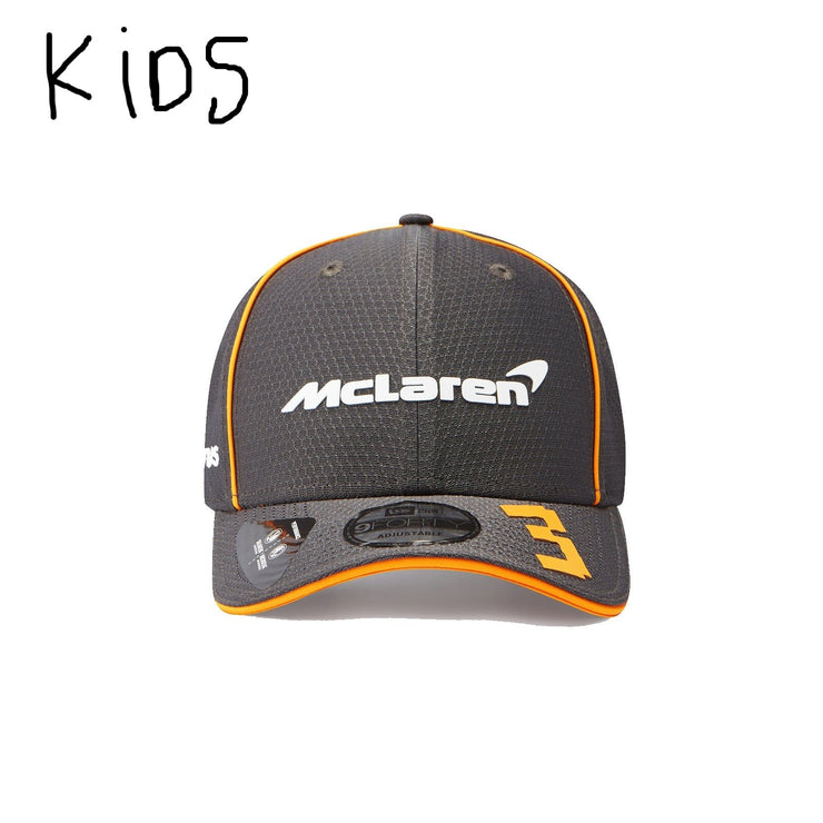 2021 McLaren Racing F1™ Team Daniel Ricciardo NEW ERA 9FIFTY Cap - Kids - Anthracite Grey