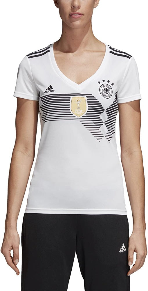 Adidas FC Germany Home Jersey - Women - WhiteAdidas FC Germany Home Jersey - Women - White