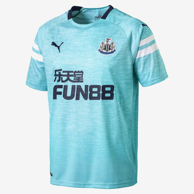 Puma Newcastle United Third Jersey Men Light Blue  2018 20-19