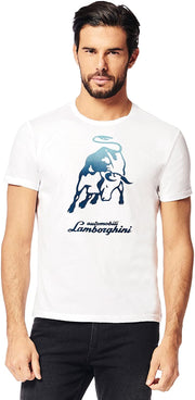 Lamborghini SS Big Bull T-Shirt - Men - White