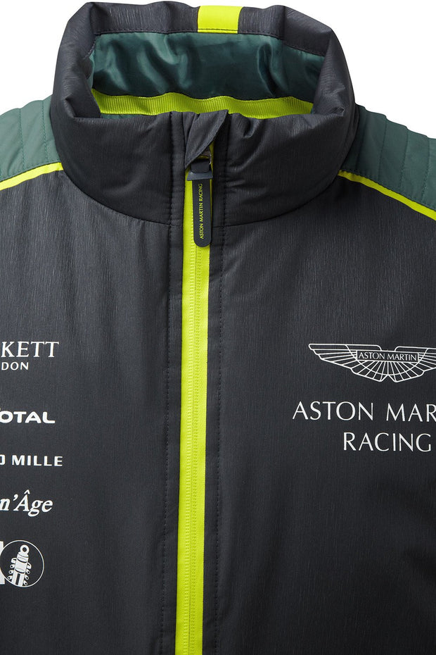 Aston Martin Racing Team Sleeveless Gilet Jacket - Men - Navy
