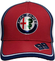 Alfa Romeo Racing F1® Antonio Giovinazzi Cap - Men - Red