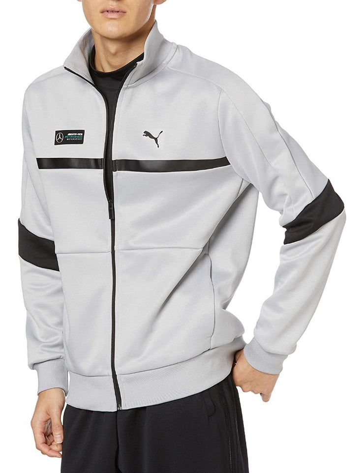 Puma Mercedes AMG Motorsport Petronas F1™ Team T7 Track Jacket - Men - Silver