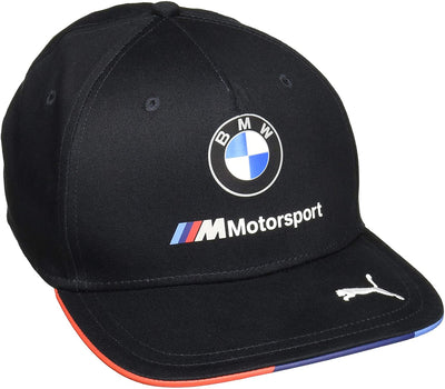 BMW Motorsport Baseball Snapback Cap - Men - Black Anthracite