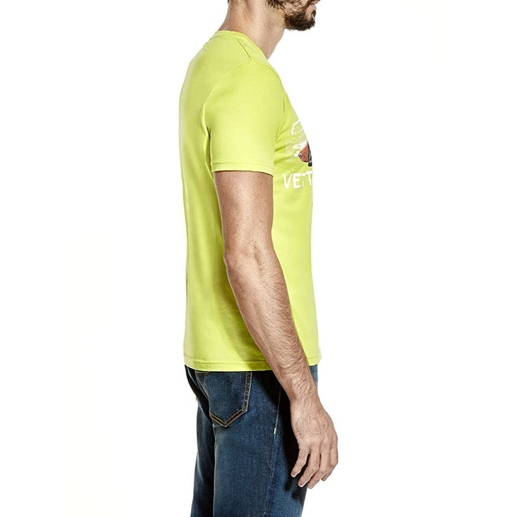 Lamborghini Vetture Sportive Vintage Sports Car T-Shirt - Men - Lime