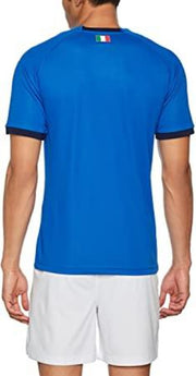FIGC Puma Italia Football Federation Replica Home Football Jersey - Men - Blue Peacoat