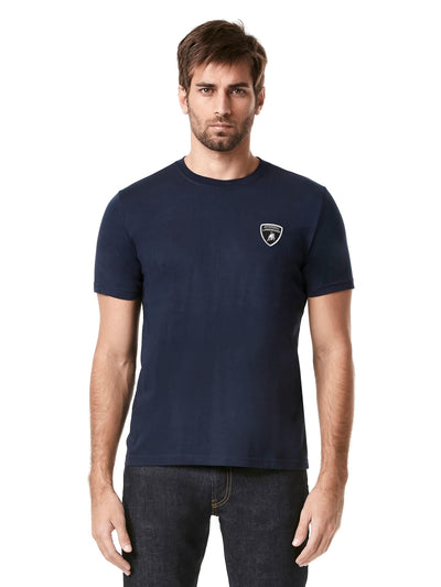 Lamborghini Classic T-shirt - Men - Navy Blue - FanaBox