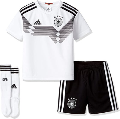 Adidas FC Germany Home Home Mini Kit- Kids - White