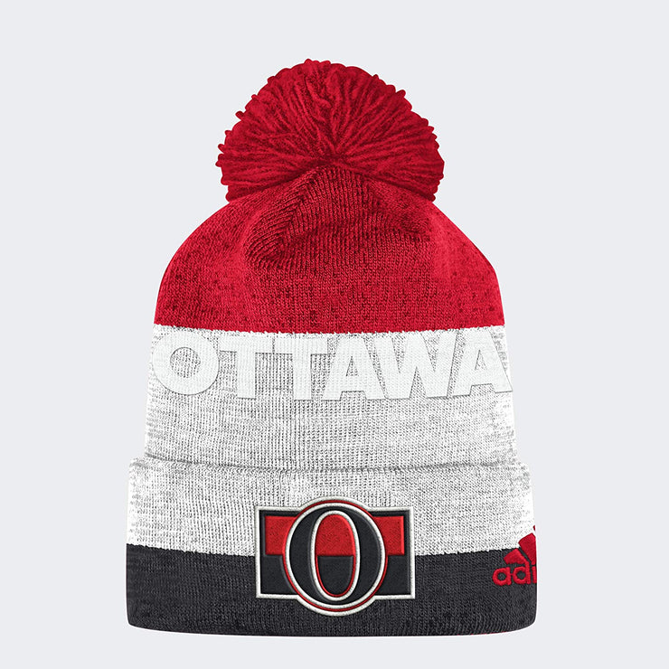 Adidas Ottawa Senators NHL Beanie - Men - Red