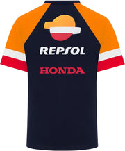 GP-Racing GP-Racing Repsol Coloured Sleeves T-Shirt