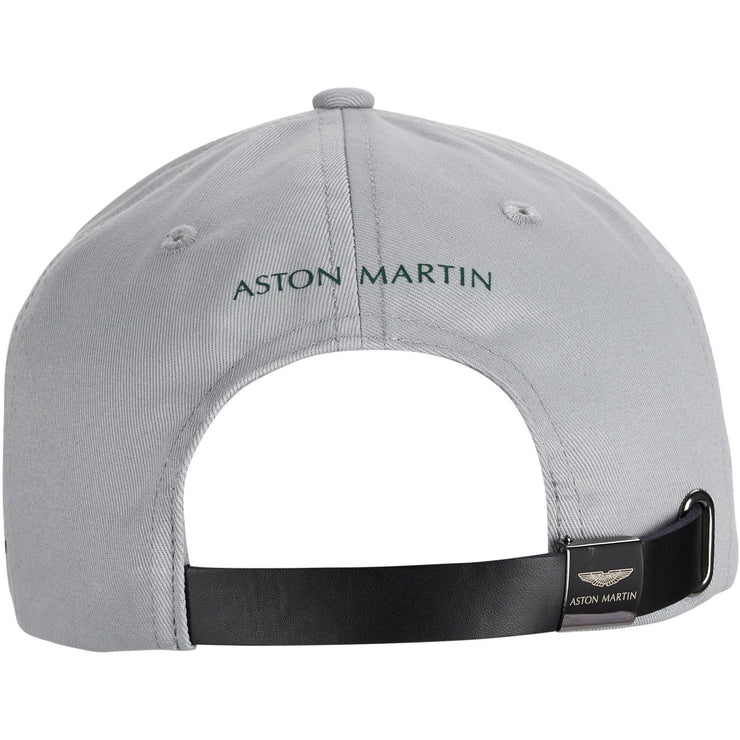 2021 Aston Martin F1™ Team Sebastian Vettel AMCF1 Official Driver Germany Cap - Grey - Men
