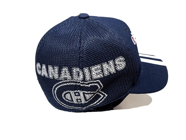 Montreal Canadiens Adidas Official NHL cap blue men