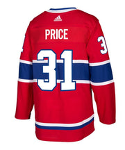 Montreal Canadiens Adidas Authentic Pro Carey Price Jersey - Men - Red - FanaBox
