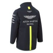 Aston Martin Team Softshell kids Jaket - Navy - Kids
