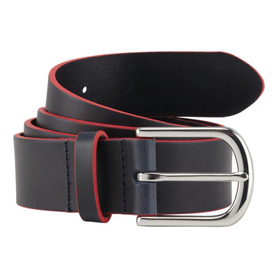 Aston Martin Racing Leather Belt - Men - Blue - FanaBox