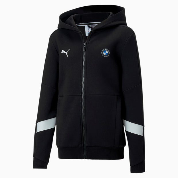 BMW M Motorsport Men's Hooded - Sweat Jacket - Black