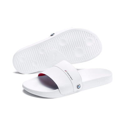 Puma BMW Leadcat FTR sandals flip flops white beach shoes
