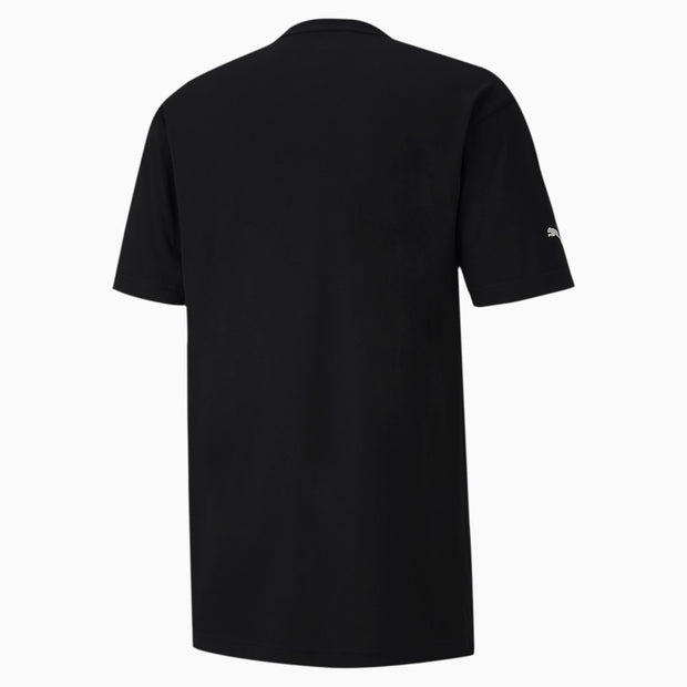 BMW M Motorsport Men's Graphic T-Shirt - Black - Back