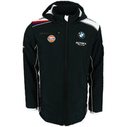 Gulf Althea BMW Motorsport Fall Winter Hooded Jacket - Men - Black - FanaBox