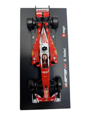 Bburago 1:43 scale Ferrari Racing Sebastian Vettel - Accessories - Red