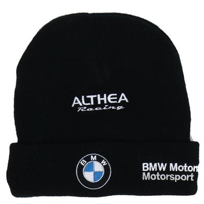 BMW Motorsport Gulf Althea Racing Winter Beanie - Men - Black - FanaBox