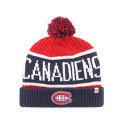 47 Brand Montreal Canadiens Cuffed Beanie - Men - Blue & Red