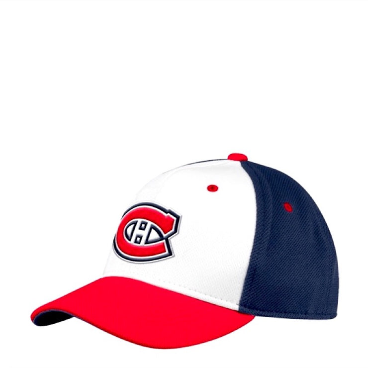 Adidas Montreal Canadiens NHL Cap - Men - Red, White and Blue - FanaBox
