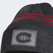 Adidas Montreal Canadiens Cuffed Beanie - Accessories -  Grey and Red