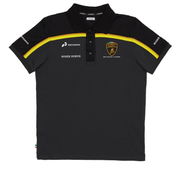 2019 Lamborghini Squadra Corse Team Special Edition Polo shirt - Men - Black - FanaBox