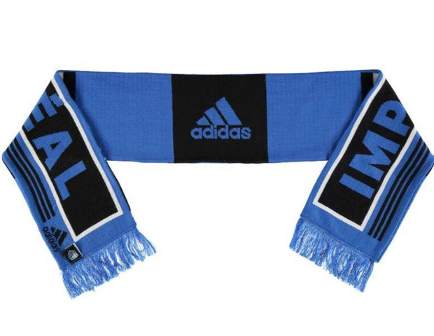 Adidas Montreal Impact Authentic Scarf - Accesories - Black & Blue