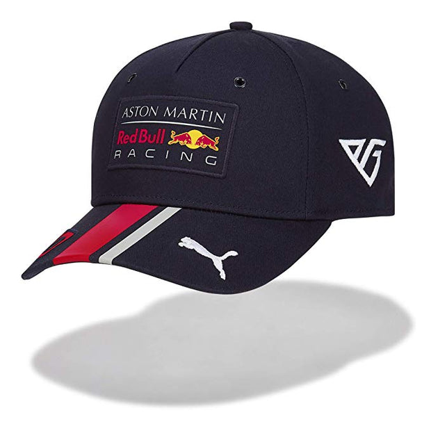 2019 Puma Red Bull Racing Pierre Gasly Curved Cap - Kids - Blue - FanaBox
