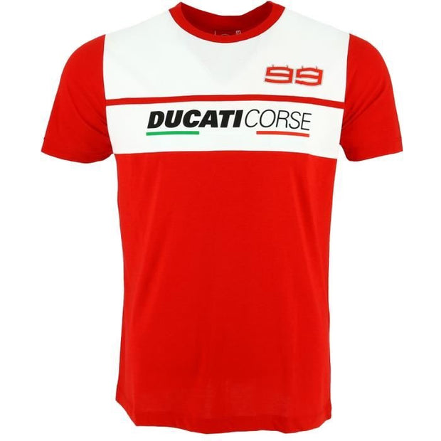 Ducati Corse 99 T-Shirt - Men - Red - FanaBox