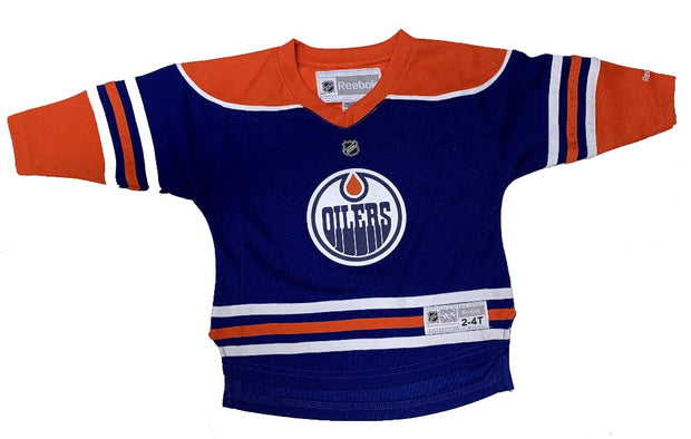 Edmonton Oilers Player Puljujarvi Jersey Reebok - Infants - Blue
