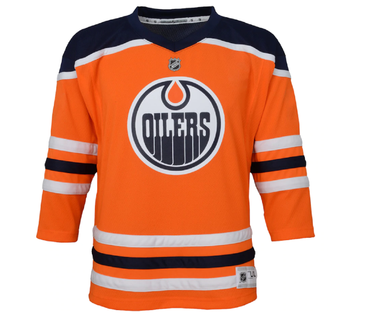 Edmonton Oilers Mc David Jersey - Youth Front