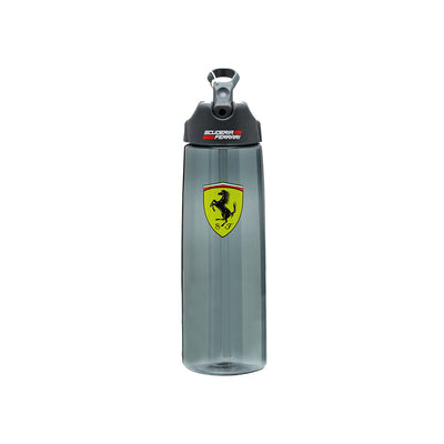 Scuderia Ferrari F1™ Team Authentic Sports Bottle - Accessories - Semi Transparent and Black