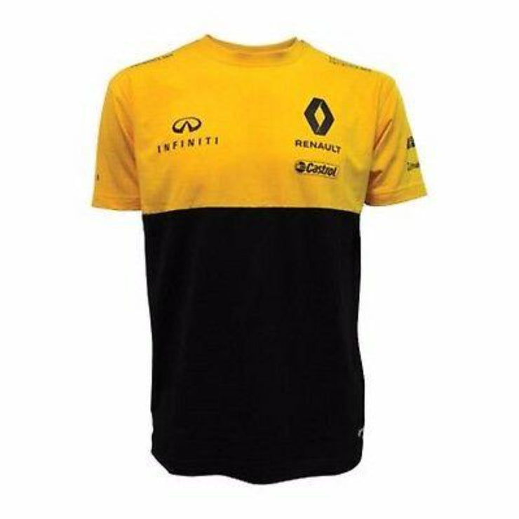 Renault F1® Team T-shirt - Kids - Yellow & Black